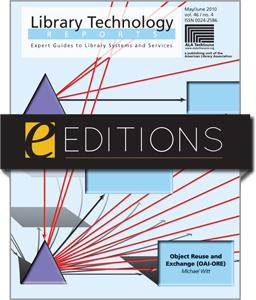 Object Reuse and Exchange (OAI-ORE)--eEditions e-book