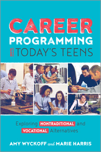 book cover for Career Programming for Today's Teens