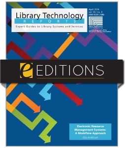 Electronic Resource Management Systems: A Workflow Approach—eEditions e-book