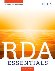 book cover for RDA Essentials, Second Edition