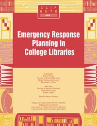 ClipNote #40: Emergency Response Planning in College Libraries