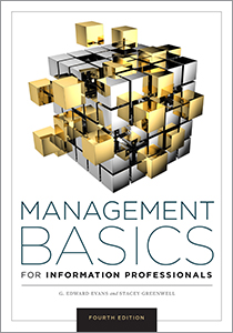 book cover for Management Basics for Information Professionals, Fifth Edition