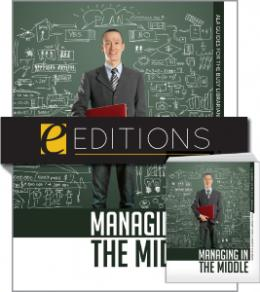 Managing in the Middle--print/e-book Bundle