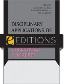 eBook cover with book title and editors' names,  with the logo ALA eEditions logo superimposed.