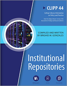 book cover for Institutional Repositories: CLIPP #44