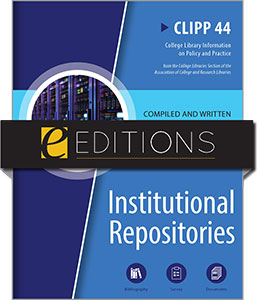cover image for Institutional Repositories: CLIPP #44--e-book
