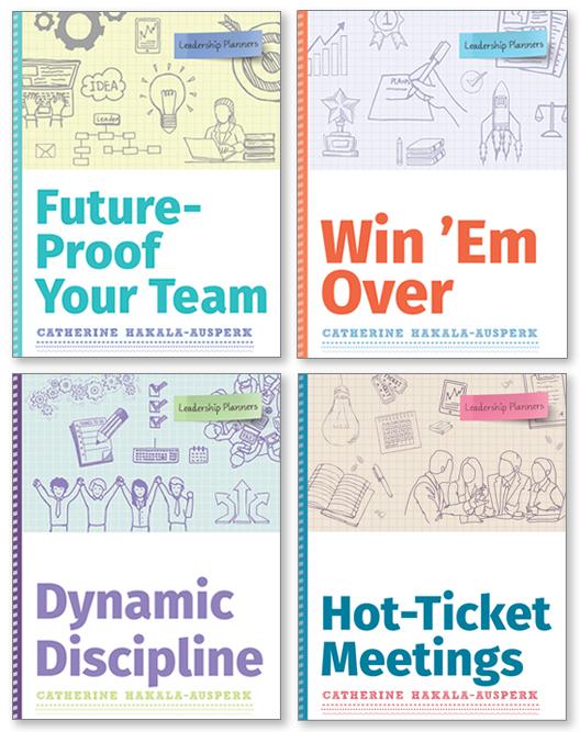 Leadership Planners bundle (Vol. 1-4)