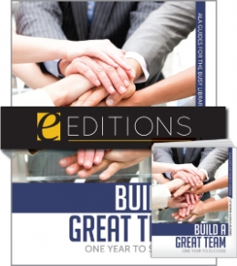 Build a Great Team: One Year to Success--print/PDF e-book Bundle