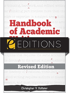 Handbook of Academic Writing for Librarians—REVISED EDITION eEditions e-book