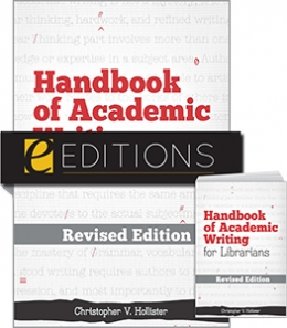 Handbook of Academic Writing for Librarians—REVISED EDITION print/e-book bundle