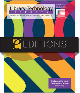 Analyzing the Next-Generation Catalog--eEditions e-book