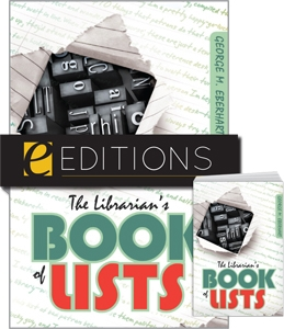 The Librarian's Book of Lists--print/e-book Bundle