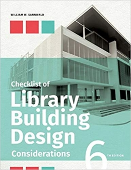 book cover for Checklist of Library Building Design Considerations, Sixth Edition