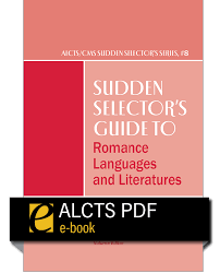 cover image for Sudden Selector's Romance Language and Literatures--e-book