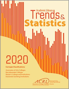 book cover for 2020 ACRL Academic Library Trends And Statistics
