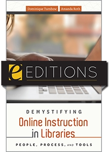 cover image for Demystifying Online Instruction in Libraries—e-book