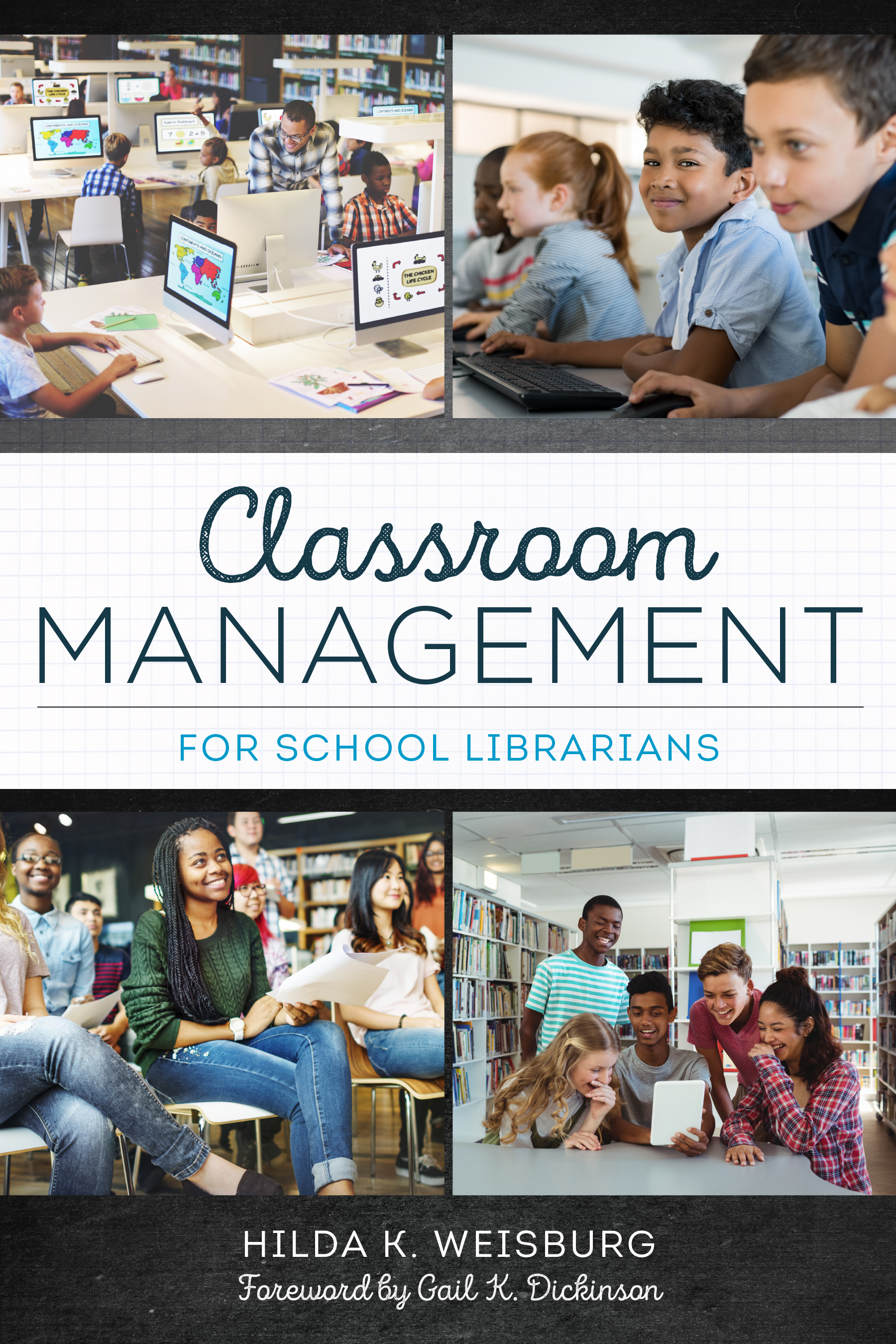 book cover for Classroom Management for School Librarians