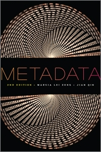 book cover for Metadata, Second Edition