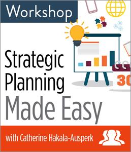 Strategic Planning Made Easy Workshop—Group Rate