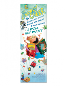 Image for Library Cheer Bookmark