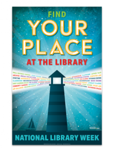 Image for 2020 National Library Week Poster