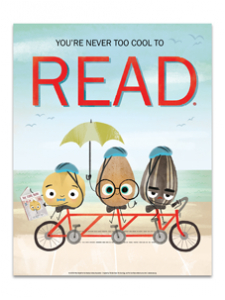 Image for Reading is Cool Beans Poster
