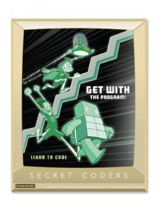 Image for Secret Coders Poster