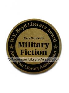 Image for W.Y. Boyd Military Novel Award Seal
