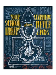 Image for Your School Library Poster