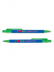 Image for I Love My Library Pen