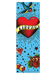 Image for Love My Library Tattoo Bookmark