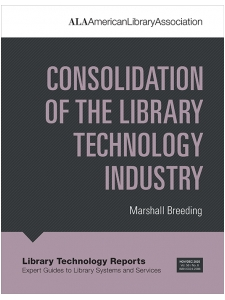 Image for Consolidation of the Library Technology Industry