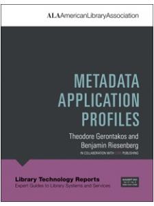 Image for Metadata Application Profiles