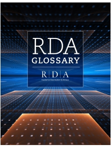 Image for RDA Glossary