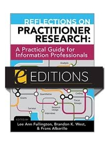 Image for Reflections on Practitioner Research: A Practical Guide for Information Professionals—eEditions PDF e-book