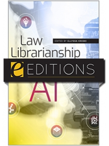 Image for Law Librarianship in the Age of AI—eEditions e-book