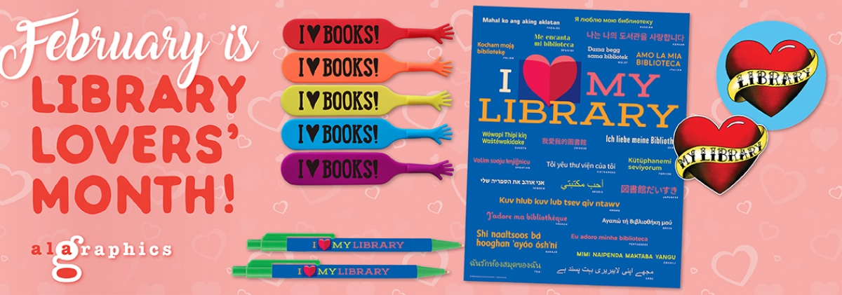 Library Lovers Month Banner