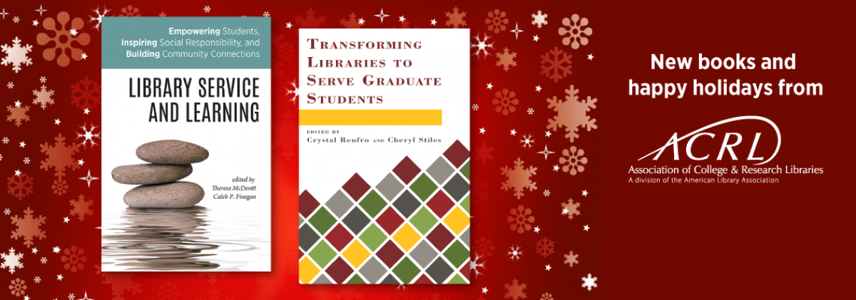 image advertising new titles from ACRL