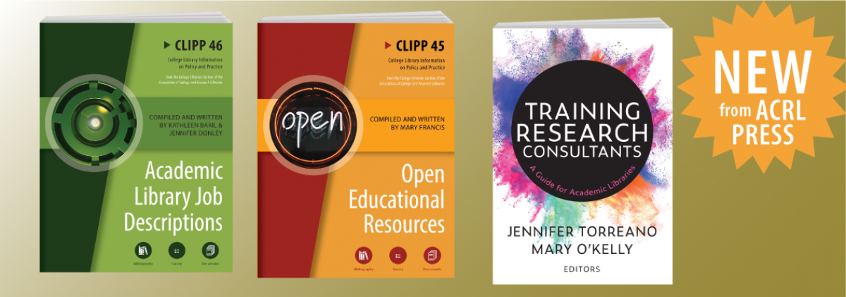 browse new titles from ACRL