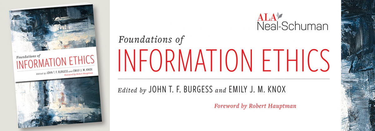 book cover for Foundations of Information Ethics