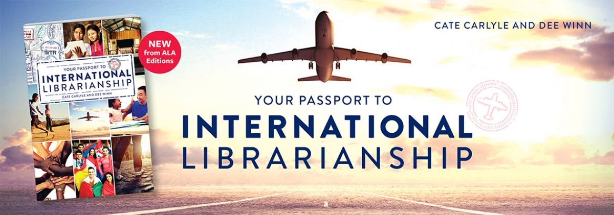 book cover for Your Passport to International Librarianship