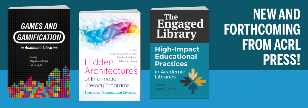 click here for new books from ACRL