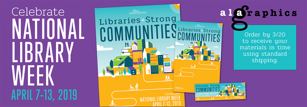 2019 National Library Week Products