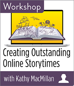 Image for Creating Outstanding Online Storytimes Workshop