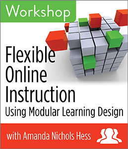 Image for Flexible Online Instruction Using Modular Learning Design Workshop—Group Rate