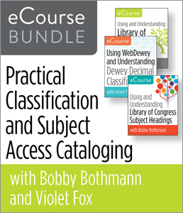 Image for Practical Classification and Subject Access Cataloging eCourse Bundle