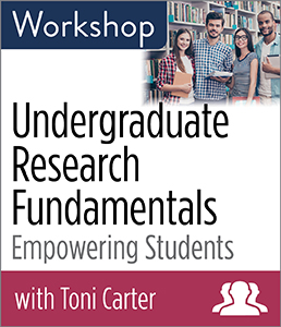 Undergraduate Research Fundamentals: Empowering Students Workshop—Group Rate