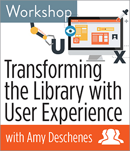 Image for Transforming the Library with User Experience Workshop—Group Rate