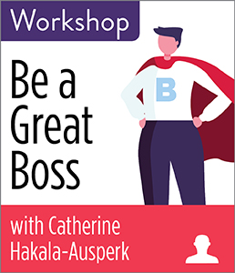Image for Be a Great Boss Workshop