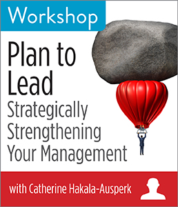 Image for Plan to Lead: Strategically Strengthening Your Management Workshop